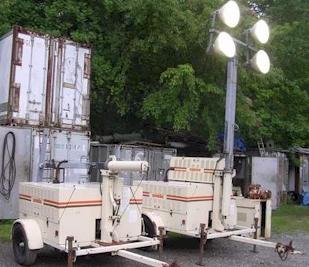 Amida Lighting Towers - Powered by Kubota Diesel Engine