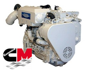 Cummins Marine 4 Series and 6 Series ReCon Diesel Engines